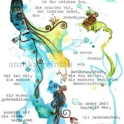 "Text: Christa Wolf ""Kassandra"" ©annikagemlau2014"