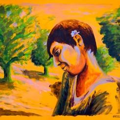 Valentina. La luz de Granada - Original : 280€ ©annikagemlau2012
