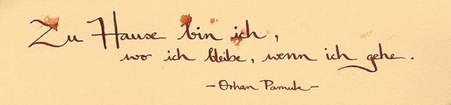 ©annikagemlau, lyrics by Orhan Pamuk