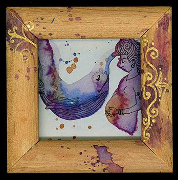 """embarazo del mar ©annikagemlau - """"Die Vorstellungskraft ist der wahre Uterus"""" (Domingo Acosta Felipe). Fruchtbarkeit und Schwangerschaft als Prozesse des Insichtragens, Gebärens und an die Welt aussenden - nicht nur im organischen Sinne, sondern permanent im kreativen Sinne"""