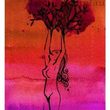 ESPÍRITU DEL BOSQUE midi ©annikagemlau - Verbundenheit von Weiblichkeit mit Wäldern, Fruchtbarkeit und Wachstum