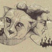 HOGAR INTERIOR DE FIERA DinA4 - Original : 120€ ©annikagemlau --- The beast's inner home - Visualisierung des Inneren Ortes und Verbinden mit den Kräften der Raubkatze