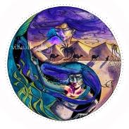 Visual Healing ©annikagemlau - Verbindung vermeintlich gegensätzlicher Sehnsüchte durch Yin und Yang. Herstellen einer Balance inmitten der Sehnsüchte. Verbundenheit mit den 5 Elementen Holz, Feuer, Erde, Metall und Wasser