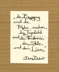 ©annikagemlau, lyrics by Denis Diderot
