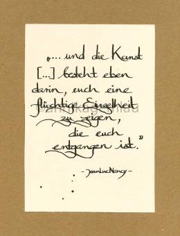 ©annikagemlau, lyrics by Jean-Luc Nancy